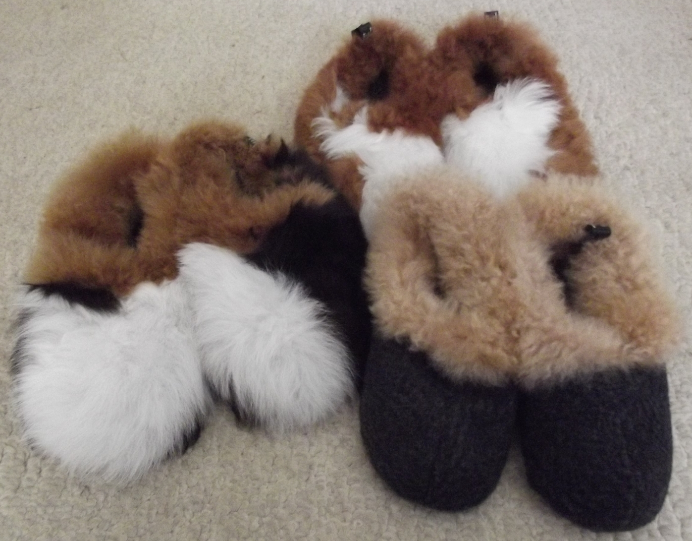 excellent quality shop sleek Alpaca Slippers now in stock – all sizes