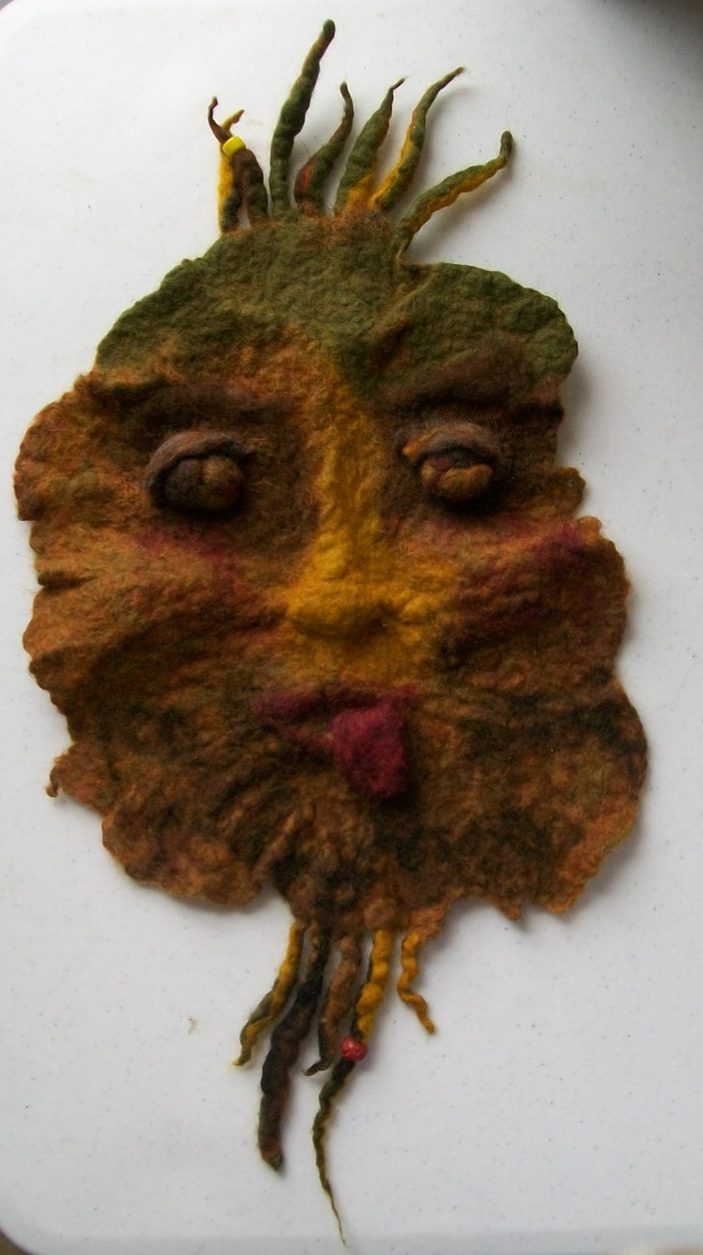 New Dyeing And Wet Felting Class