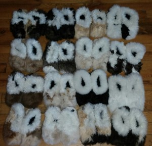 Alpaca Slippers Medium