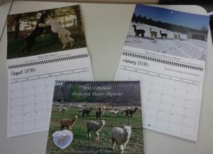 2016 alpaca farm calendar
