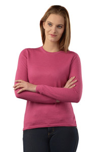 pink alpaca sweater