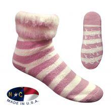 cozy sock pink