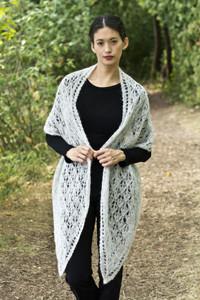 Olivia Stole, Knit Pattern