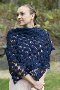 Heavenly Lace Shawl - Crochet Pattern
